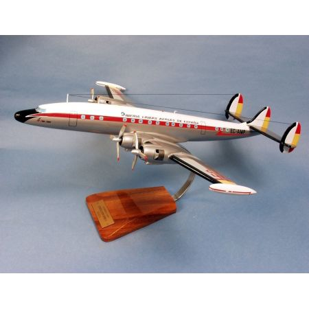 Maqueta Iberia Lockheed L-1049 Super Constellation VF389 N/A