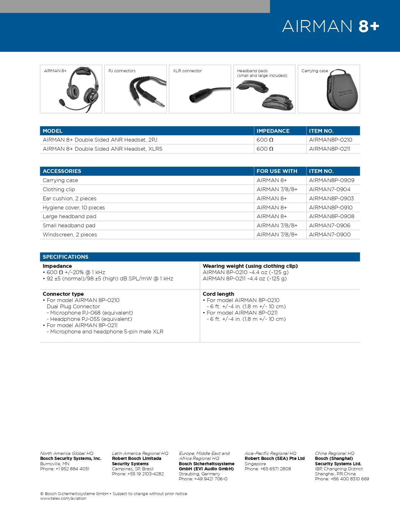 AIRMAN 8+ SPECS BUCKERBOOK